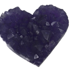 Amethyst Heart Silicone Mould