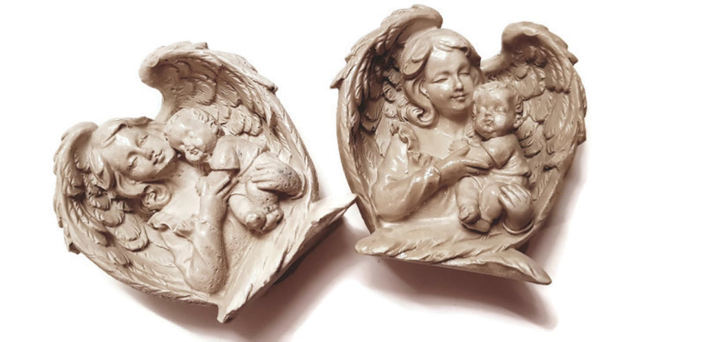 Angel Mother Silicone Mould
