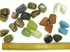 GEM STONES - 10 x HUGE Tumbled
