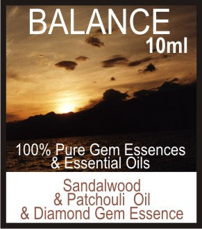 Balance Essence Oil (Sandalwood, Patchouli, Diamond)