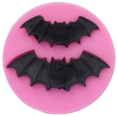 Bat (2 cavities) Silicone Mould
