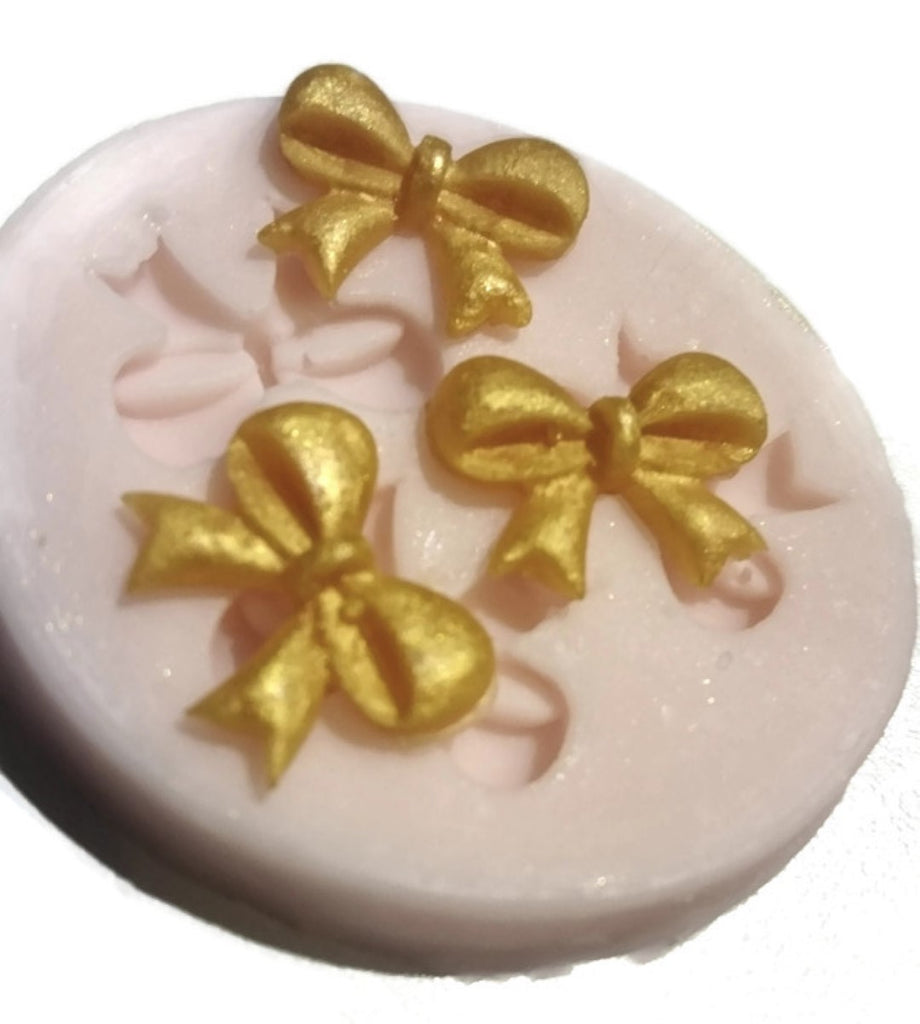 Bows Mini (3 cavity) Silicone Mould