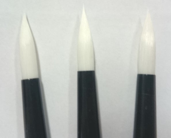 Brushes Round Size 10-12 Large - High Quality for Soap Paints
