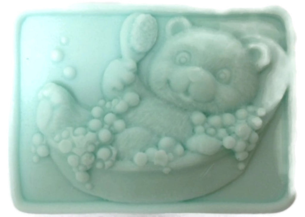 Bubble Bear Bathing Silicone Mould