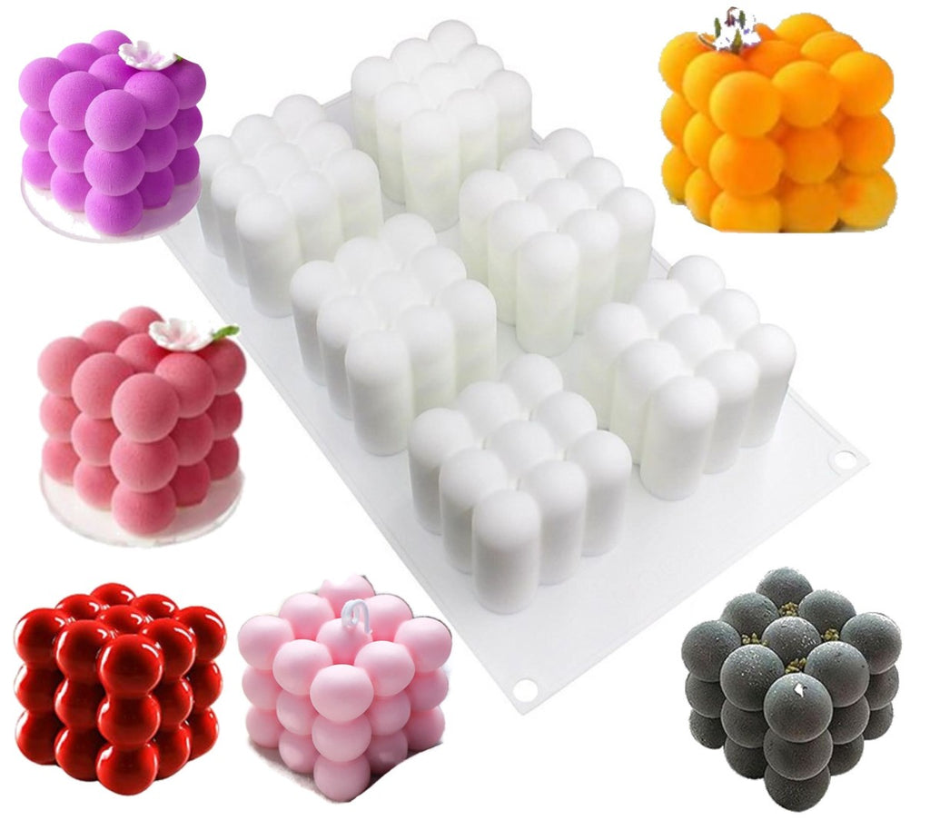 Bubble Cube Silicone Mould