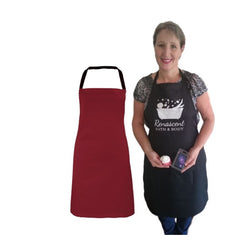 Apron Renascent Bath and Body - Burgundy