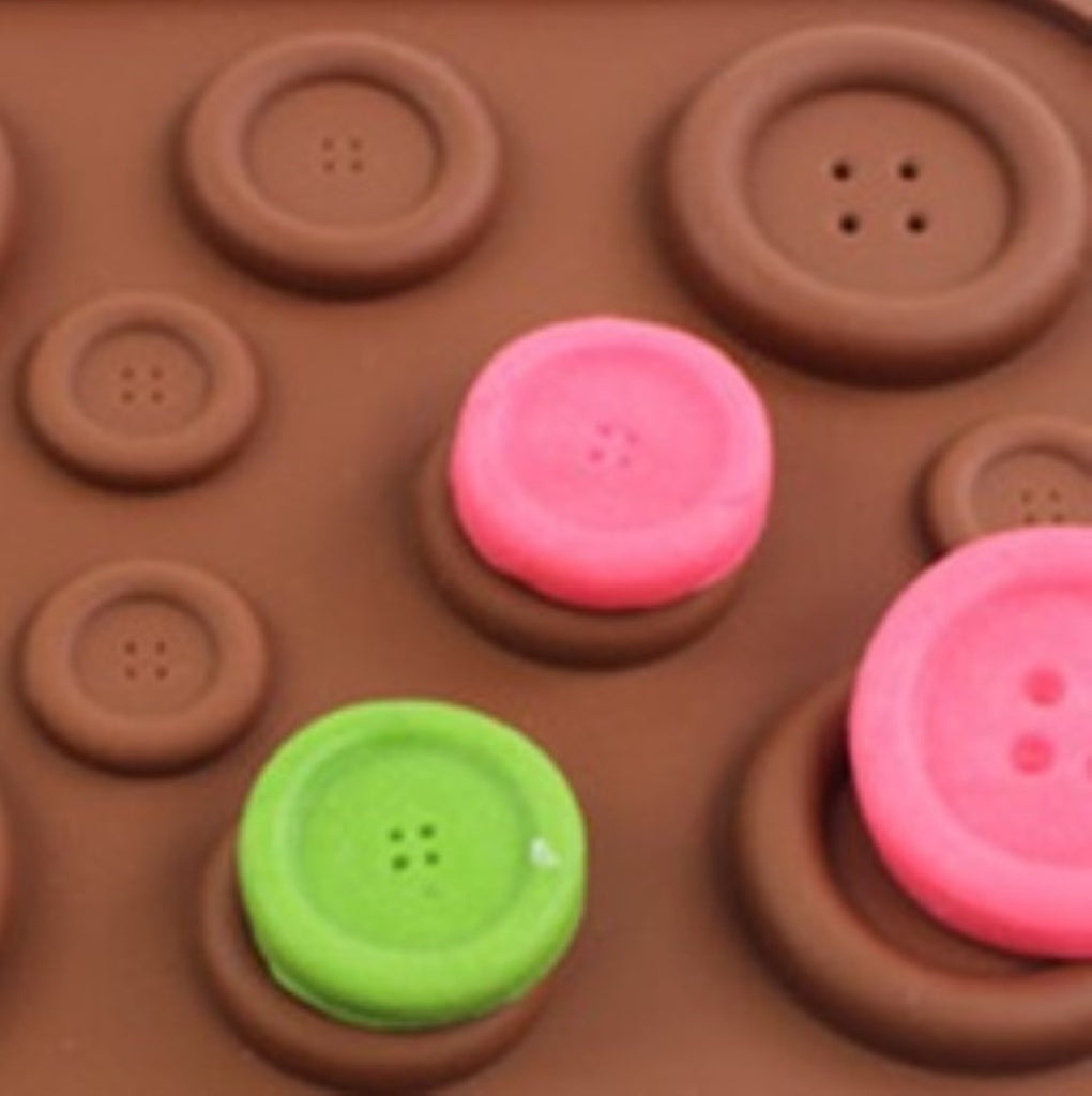 Button Silicone Mould