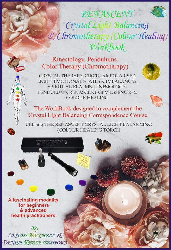 Crystal Light Balancing (Paperback) Book - Colour Therapy