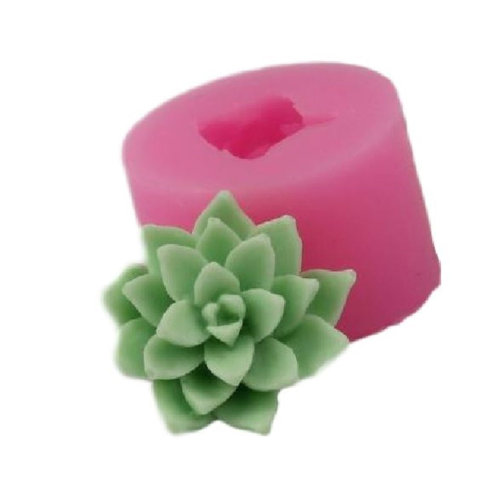 Cactus Flower Succulent Silicone Mould