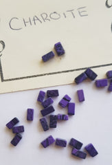 Charoite Tumbled Polished Gemstone Beads