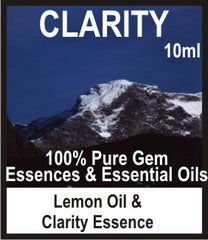Clarity Essence Oil (Lemon, Clarity Blend)