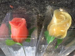 Clear Rectangle Single Rose Stem Box