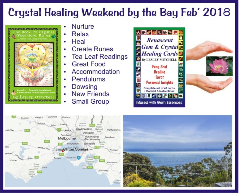Crystal Healing Weekend by the Bay