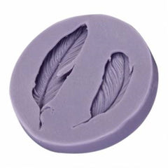 Feathers Mini (2 Cavities) Silicone Mould