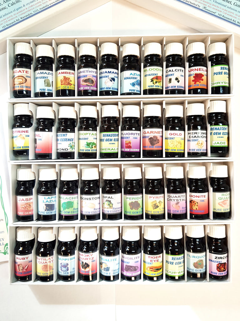 Blended Gem Essences - Stock Strength 10ml