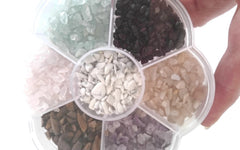 GEMSTONE FLOWER Tumbled Polished Collection #2