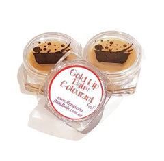 Gold Edible Lip Balm Colour Pot Concentrated