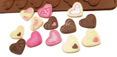 Heart Delicate 24 cavity Chocolate Silicone Mould