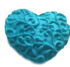 Hearts Floral Mini Silicone Mould