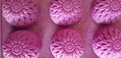 Flowers Silicone (6 Cavities - Same Shapes) Mould