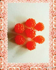 Rasberries, Blackberry X 7 Embed Silicone Mould
