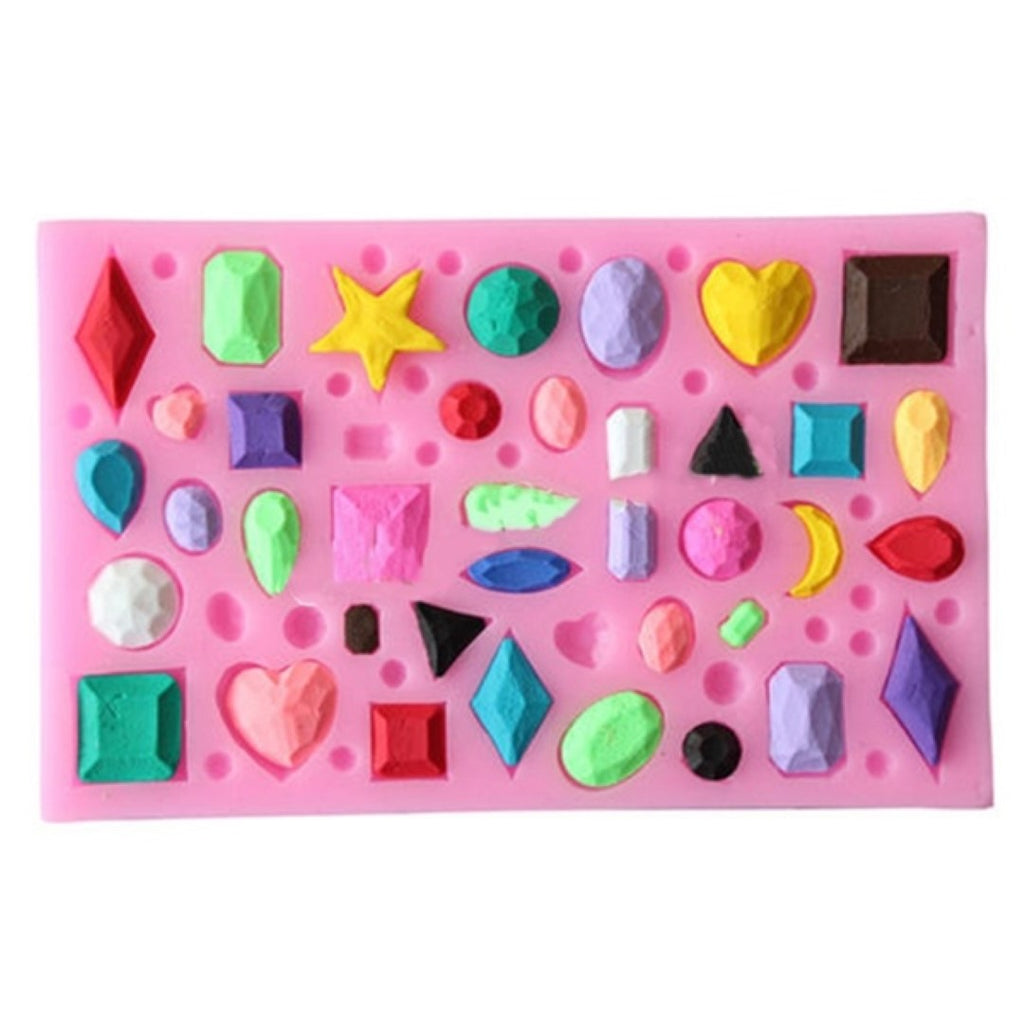 Jewels Mini Silicone Mould