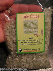 Jade Crystals Tiny Tumbled Chips 250gm