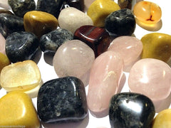 Tumbled Gemstones: Labradorite, Jasper, Rose Quartz RRP $70