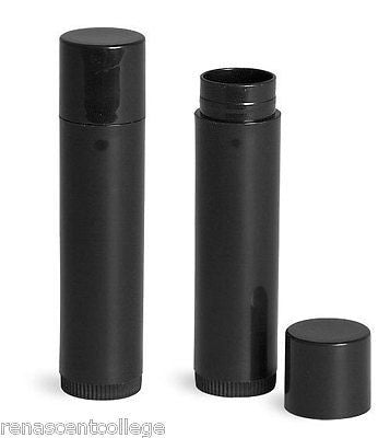 Black Twist-Up Lip Stick / Balm Tubes