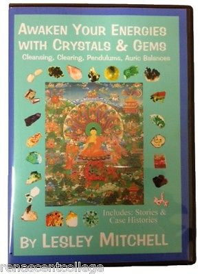 Awaken Your energiesWith Crystal and Gem Healing eBook on Disc