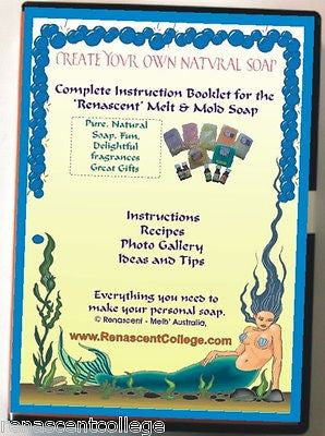 Soap Art Book on Disc for Melt+Pour soaps, recipes, ideas!