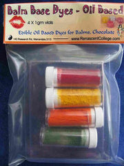 Edible Food Dye Powders x 4