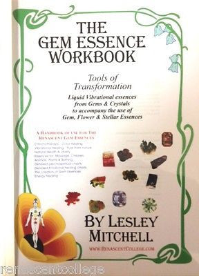Gem Essence workbook A4 Paperback - Vibrational Healing, Elixers