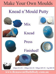 Knead n' Mold Silicone Pink Putty (makes Moulds Easy)