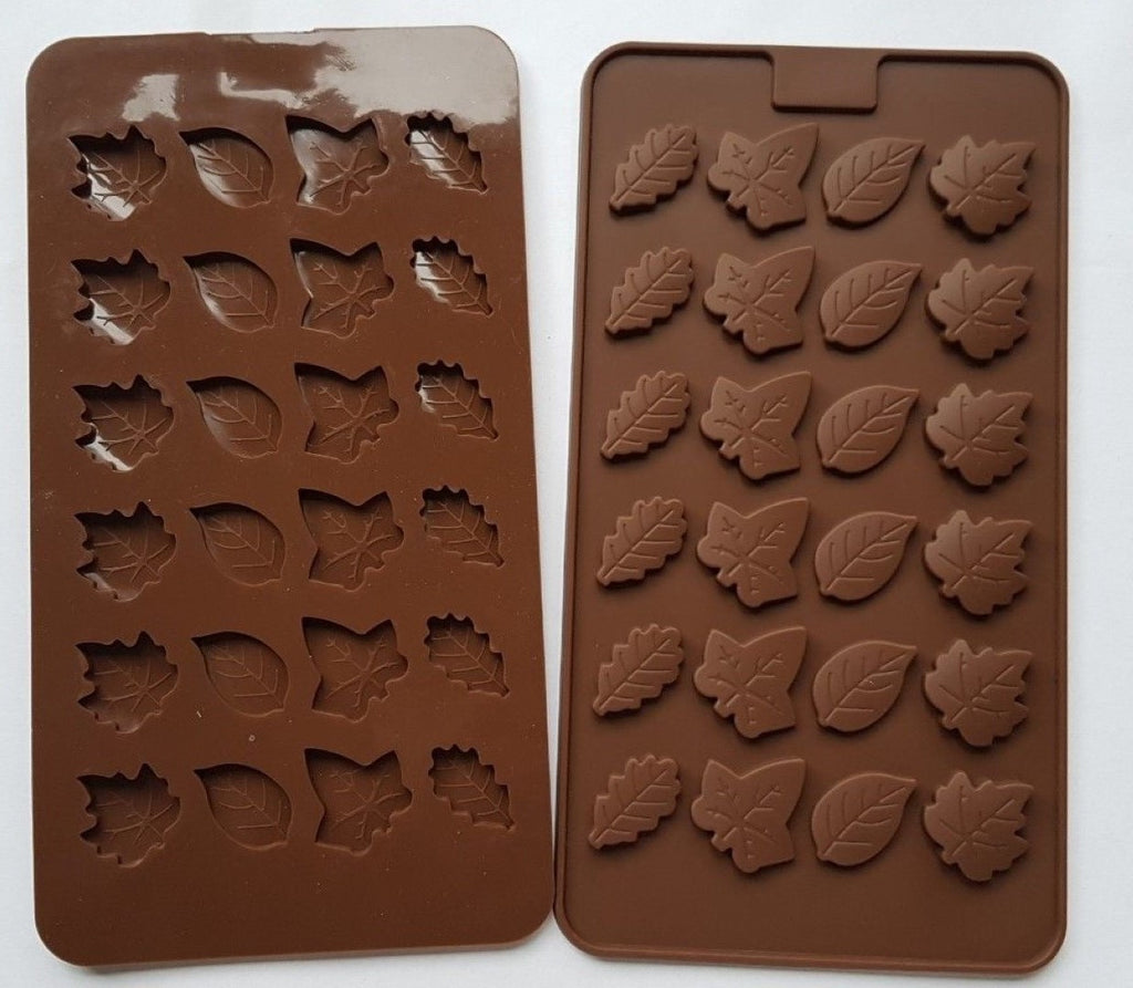 LEAF leaves 24 Shapes Silicone Mould
