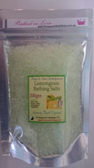Bathing Crystals / Salts: Lemongrass