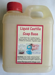 Castile Liquid Organic Soap Base Ready To Use (SLS / Palm Free)