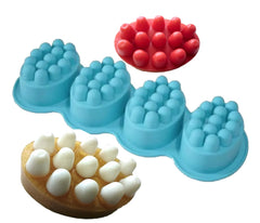Massage Bar Silicone Mould 4 cavities
