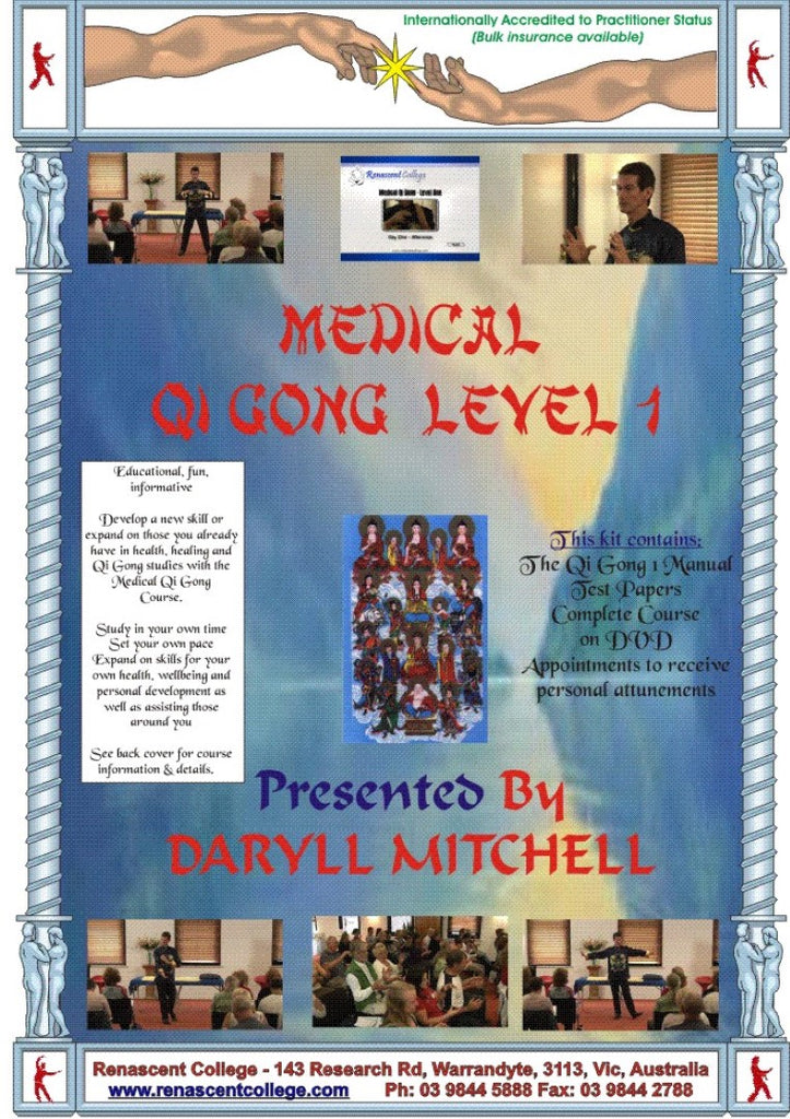 Medical Qi Gong Level 1 Correspondence Course