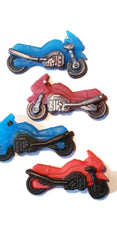 Motorbikes Mini Silicone Mould
