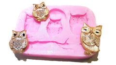 Owls Branches Silicone Mould