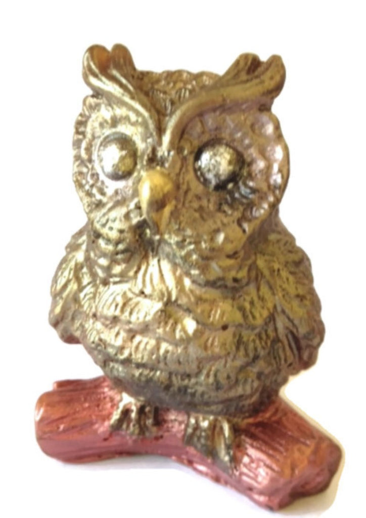 Owl on a Log Silicone Soap Mould