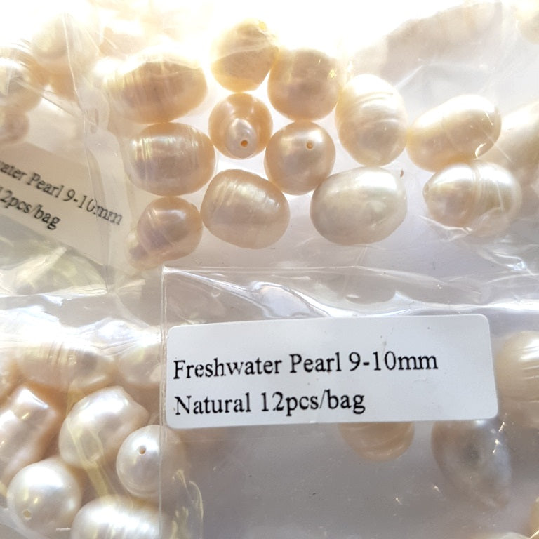 Fresh Water Pearls Genuine x 12