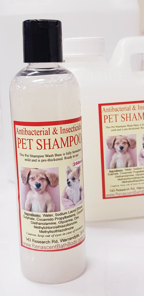 Antibacterial Insecticidal Pet Shampoo Liquid Soap Base