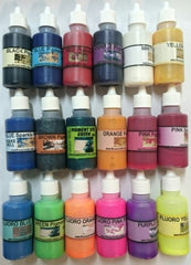 18 x Pigment Colours -All of them! - Liquid 30ml