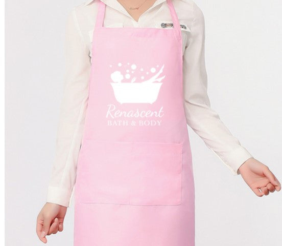 Apron Renascent Bath and Body - Pink