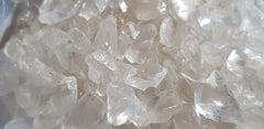 Quartz Crystal Clear Tumbled Polished Gemstone Specimen 100-500gms