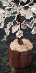 Quartz Crystal Gemstone Tree