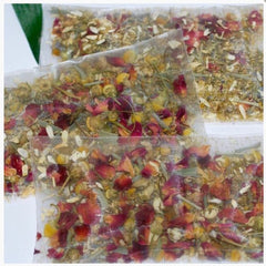 RELAX Tea Herbal Botanicals Flowers - Beautiful for soap toppings