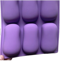Rounded Bar Silicone Mould